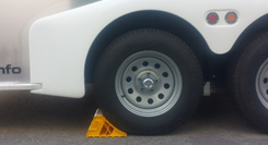 trailer wheel chock