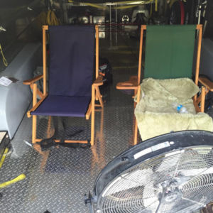 2 chairs in Aerovault